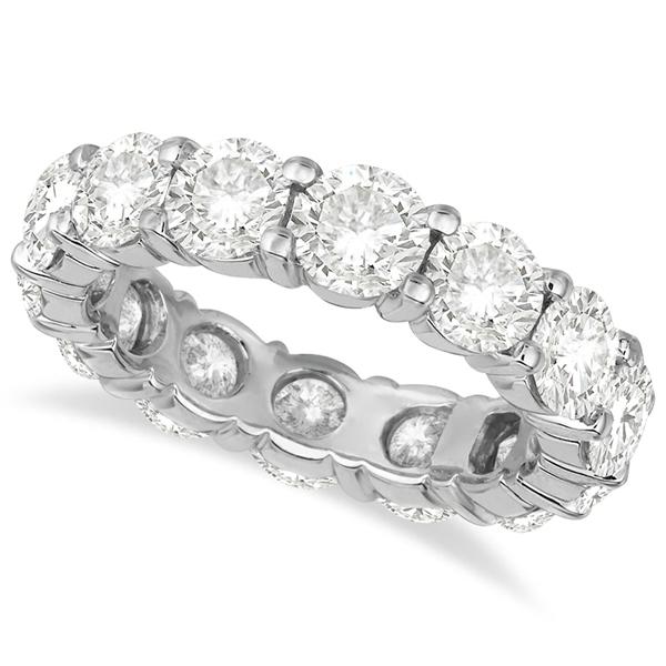 Diamond Eternity Ring Wedding Band 18k White Gold (6.00ct)