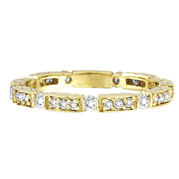 Diamond Anniversary Band 14k Yellow Gold (0.50 ctw)