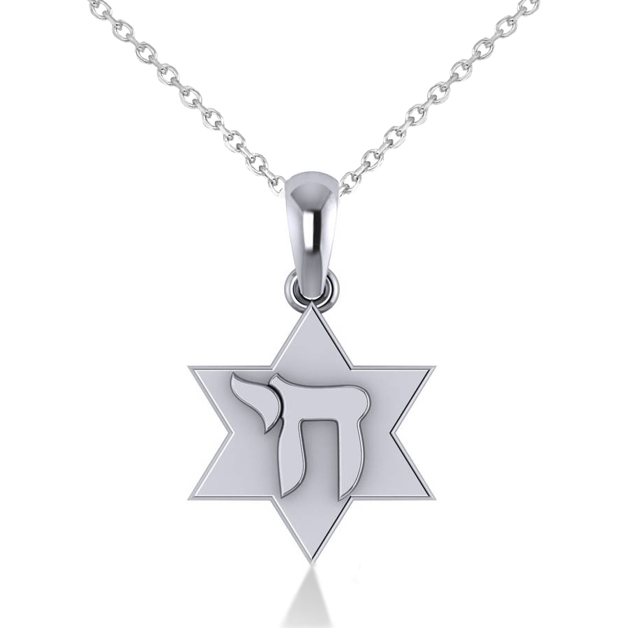 gift israel jewish jewelry gold or judaica workshops british hebrew necklace round kabbalah charm dp pendant jewellery chai