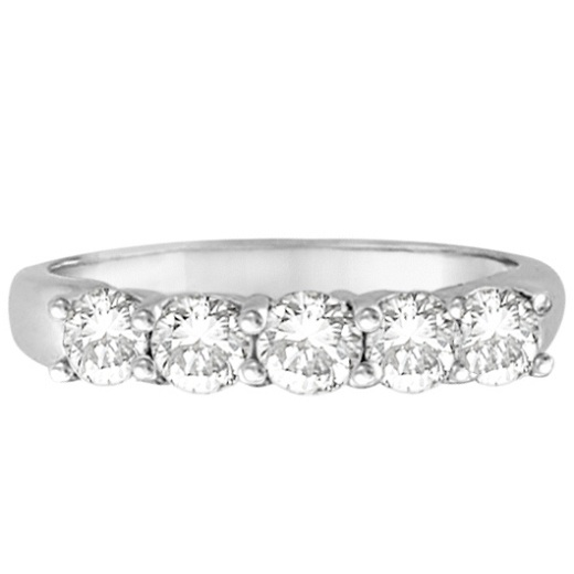 Five Stone Diamond Ring Anniversary Band 18k White Gold 100ct. Stainless Steel Chains. Oval Diamond. Mens Diamond Band. 9 Stone Rings. 14k Gold Anklet. Mixed Metal Engagement Rings. Plated Chains. Olivine Rings