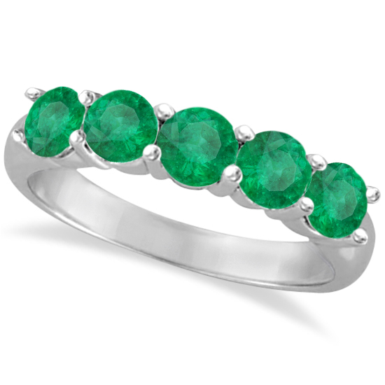 band emerald bands eternity gold anniversary and platinum diamond all view list ring round jewelry princess online green designs buy