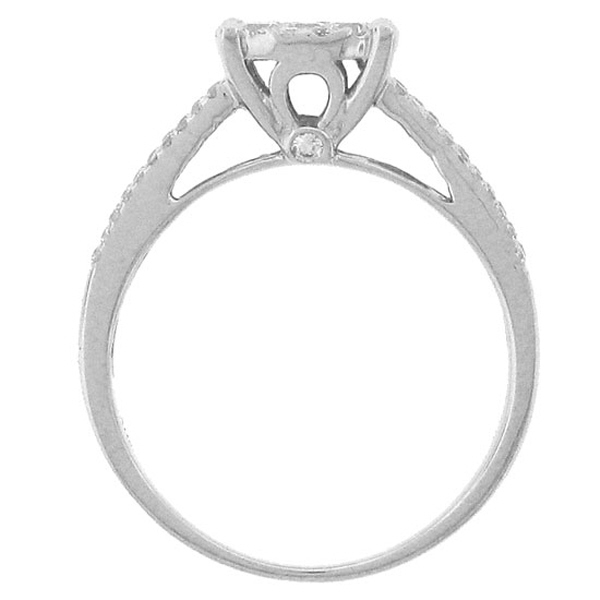 0.75ct 14k White Gold Diamond Lady's Ring