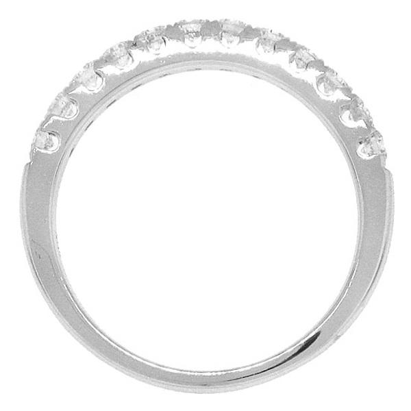 0.50ct 14k White Gold Diamond Lady's Band
