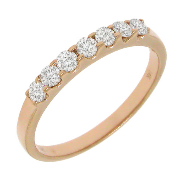 0.38ct 14k Rose Gold Diamond Lady's Band