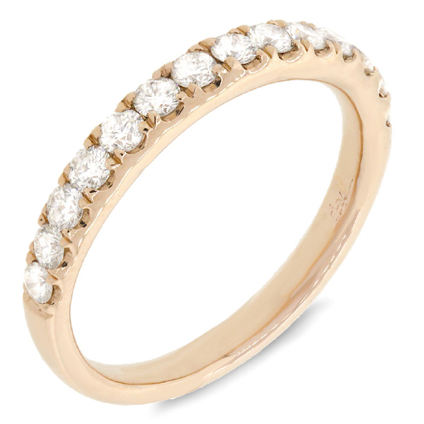 0.54ct 14k Yellow Gold Diamond Lady's Band