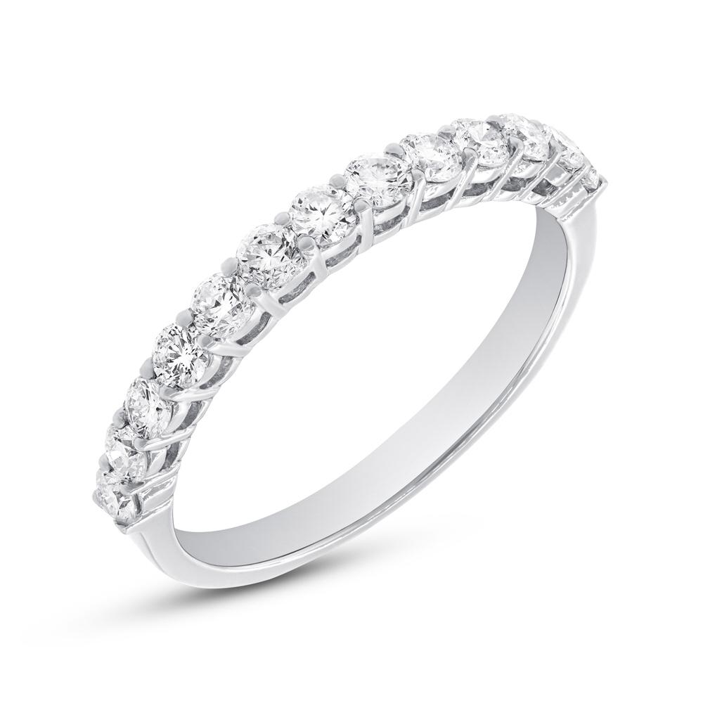 0.65ct 18k White Gold Diamond Lady's Band