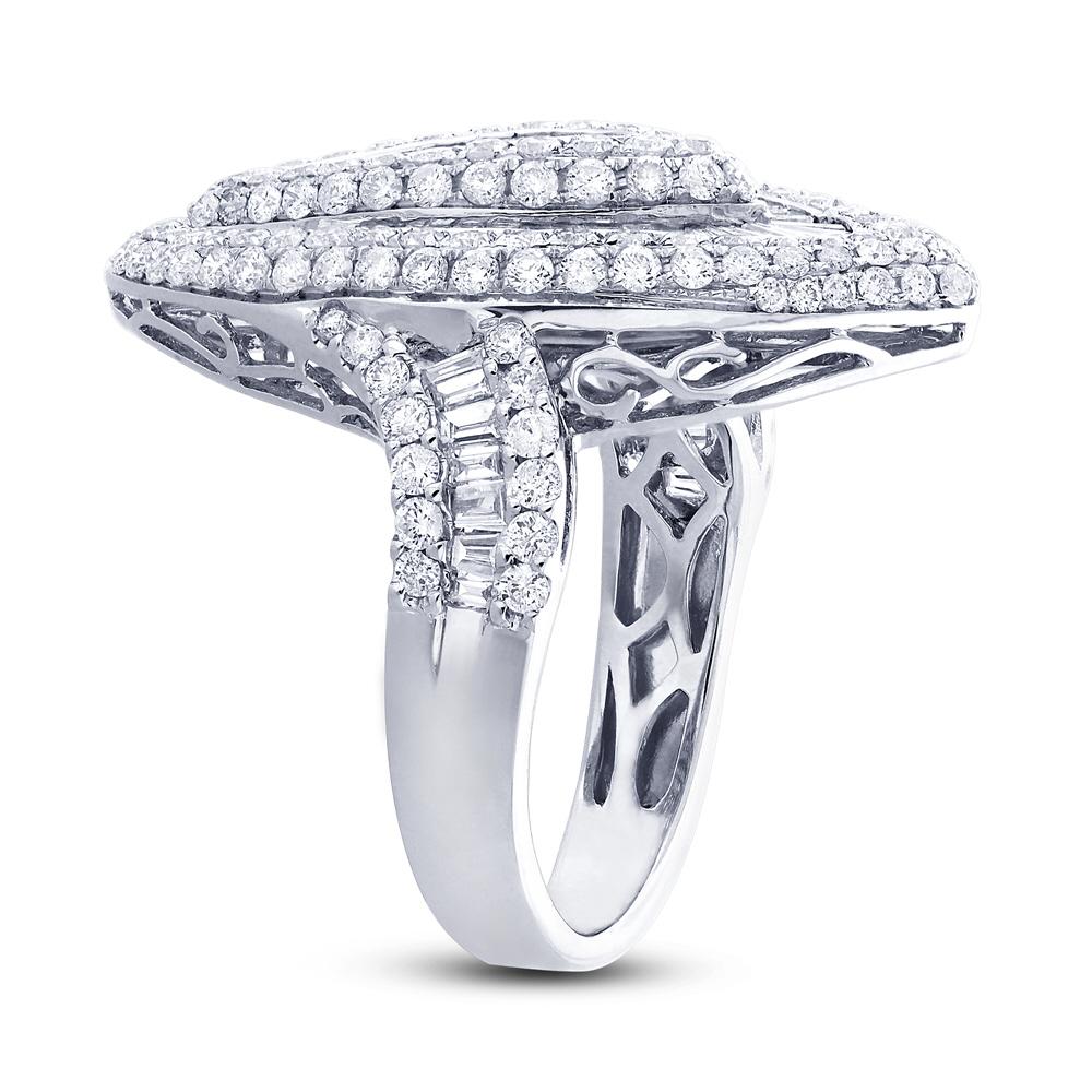 2.31ct 18k White Gold Diamond Lady's Ring