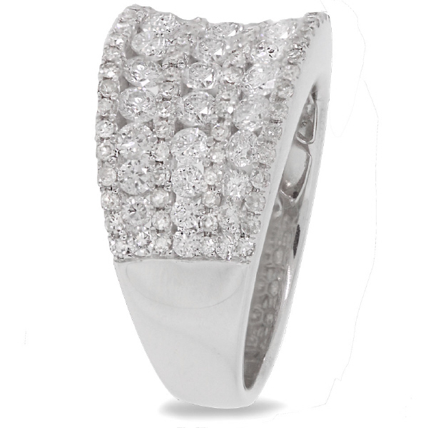 1.99ct 14k White Gold Diamond Lady's Ring