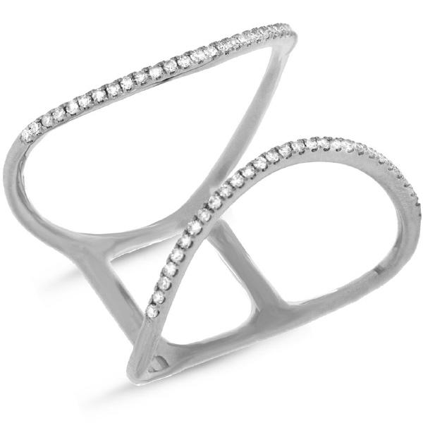 0.15ct 14k White Gold Diamond Lady's Ring
