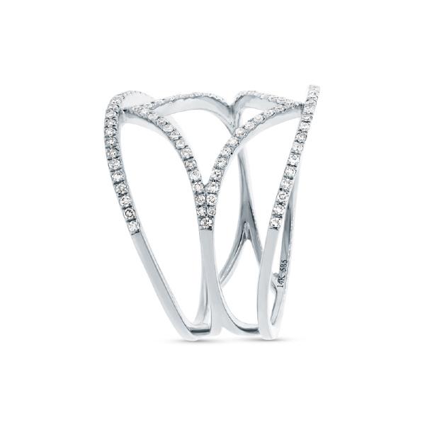 0.32ct 14k White Gold Diamond Lady's Ring