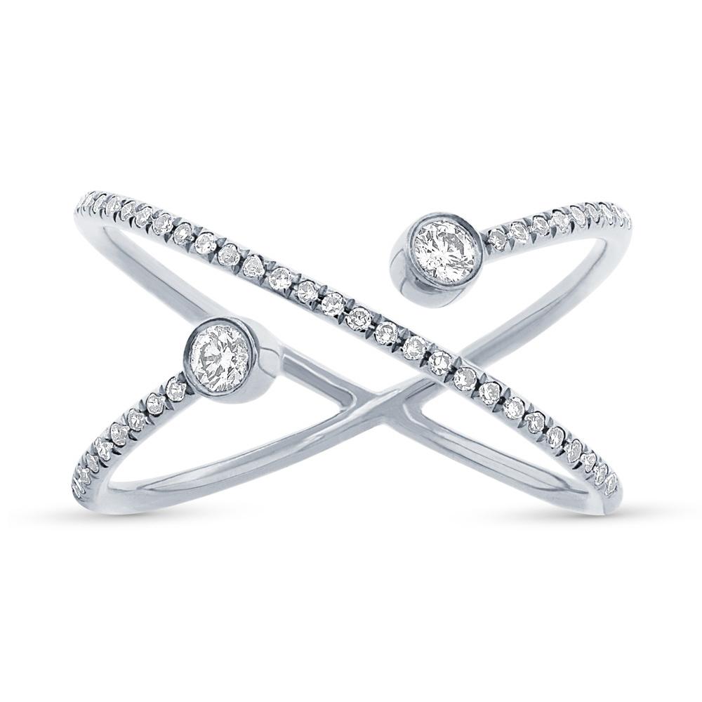0.24ct 14k White Gold Diamond Lady's Ring