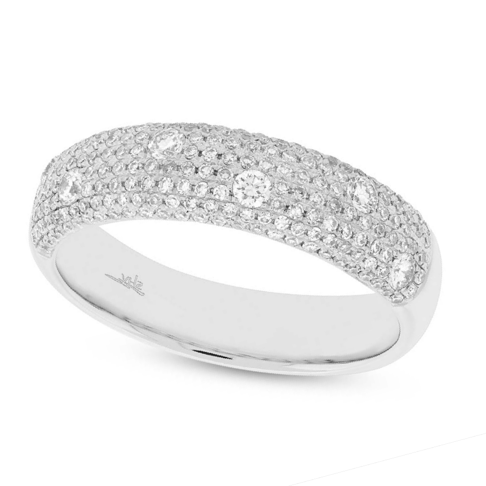 0.63ct 14k White Gold Diamond Lady's Ring
