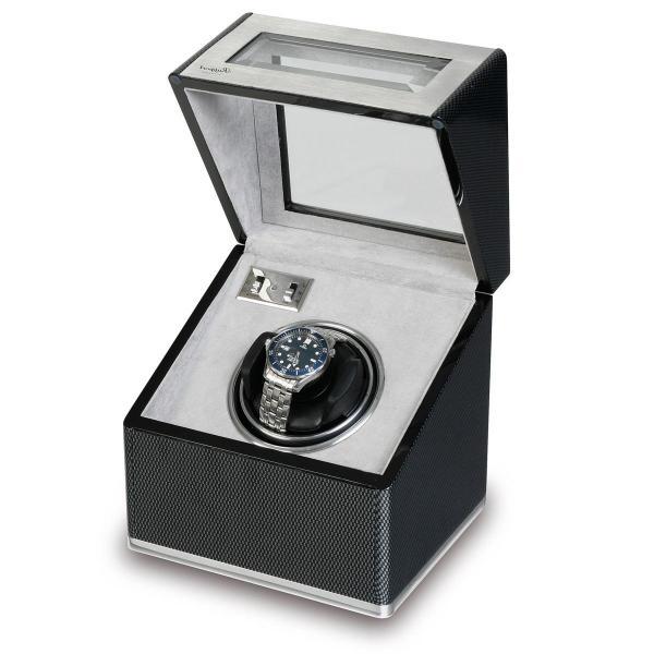 Rapport London Carbon Fiber & Aluminum Single Watch Winder