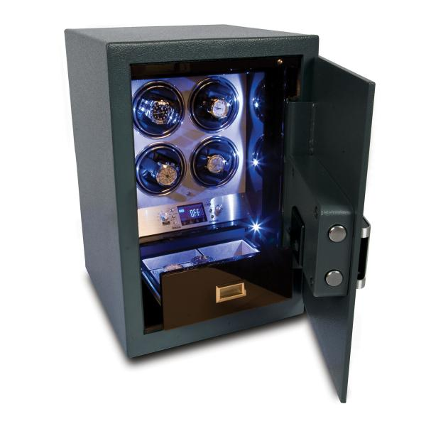 Rapport London Securita Safe and Quad Watch Winder