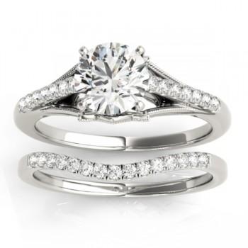 Diamond Bridal Set Setting Palladium (0.20ct)
