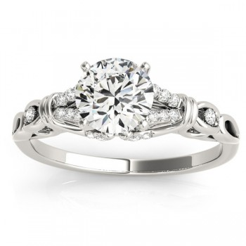 Diamond Antique Style Bridal Set Setting Platinum(0.18ct)