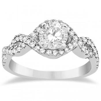 Diamond Halo Infinity Engagement Ring I