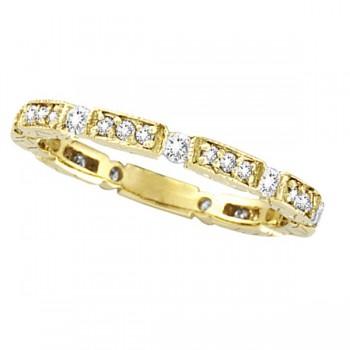 Diamond Anniversary Band 14k Yellow Gold (0.50 ctw)
