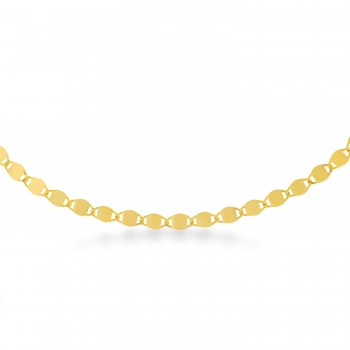 Valentino Chain Necklace 14k Yellow Gold