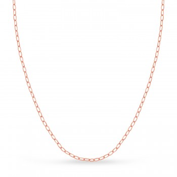 Forzentina Chain Necklace With Lobster Lock 14k Rose Gold