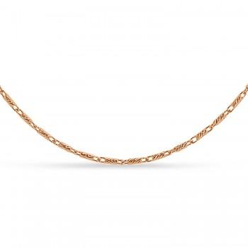 Lumacina Chain Necklace 14k Rose Gold