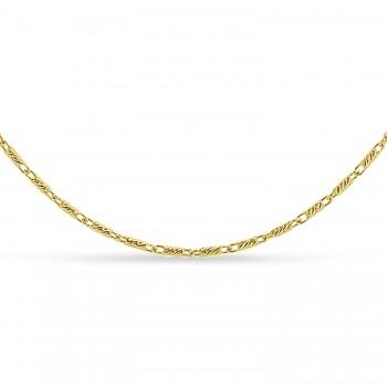 Lumacina Chain Necklace 14k Yellow Gold