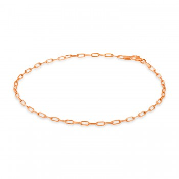 Long Forzentina Chain Necklace 14k Rose Gold