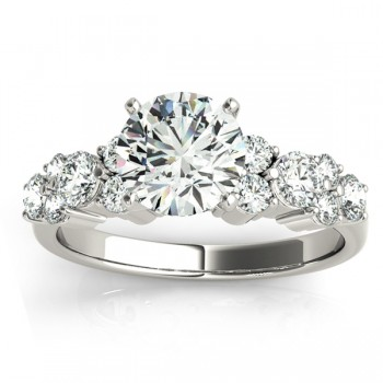 Diamond Garland Engagement Ring Setting Platinum (0.66ct)