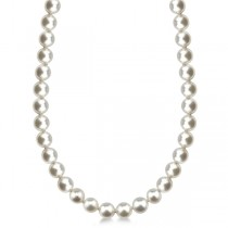 AAA White South Sea Pearl Strand Necklace 18 Inches 11.0-14mm