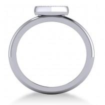 Diamond Heart Fashion Ring 14k White Gold (0.13ct)|escape