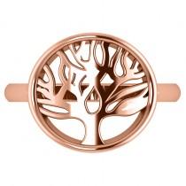 Family Tree of Life Fashion Ring 14k Rose Gold