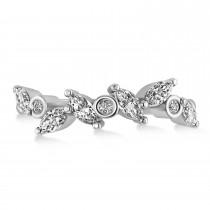 Diamond Assorted Ring/Wedding Band 14k White Gold (0.96ct)