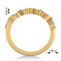Diamond Assorted Ring/Wedding Band 14k Yellow Gold (0.96ct)