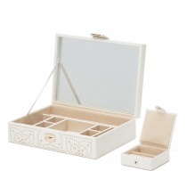 WOLF Marrakesh Flat Jewlery Box w/ Travel Case