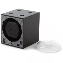 Stacking Single Watch Winder Box in Black Carbon Fiber