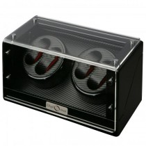High Gloss Black Quad Watch Winder Cube|escape