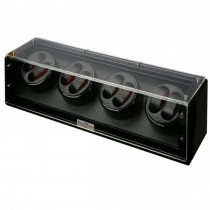 High Gloss Black Eight Watch Winder Cube|escape