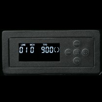 High Gloss Carbon Fiber Sixteen Watch Winder w/ Black Leather Interior