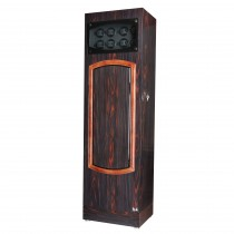 Rustic Rose Wood Ebony Thirty-two Watch Winder w/ Black Leather Interior|escape