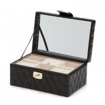 WOLF Caroline Small Jewelry Box w/ Travel Case