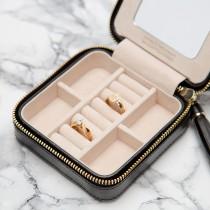 WOLF Caroline Zip Travel Jewelry Case