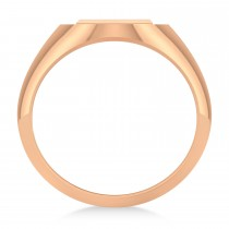 Men's Holy Cross Fashion Ring 14k Rose Gold|escape