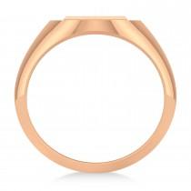 Men's Holy Cross Fashion Ring 14k Rose Gold