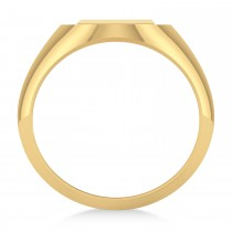 Men's Holy Cross Fashion Ring 14k Yellow Gold|escape