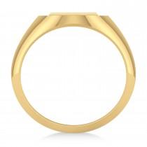 Men's Holy Cross Fashion Ring 14k Yellow Gold