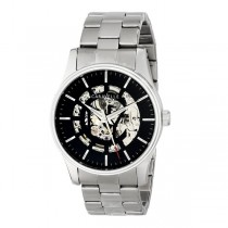 Caravelle Men's Automatic Collection Stainless Steel Watch