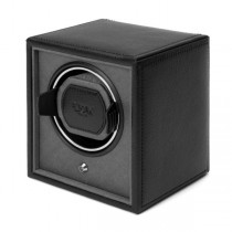 Wolf Designs Cub Single Watch Winder in Black