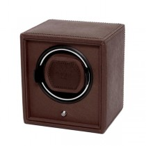 Wolf Designs Cub Single Watch Winder in Brown