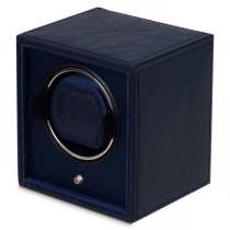 Single Automatic Watch Winder Faux Leather Solid Wood Construction