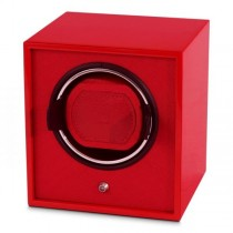 Single Automatic Watch Winder Glossy Lacquered Finish Multiple Colors
